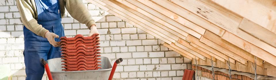 isolatiemateriaal op schuin dak